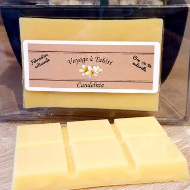 Fondant tablette naturel et artisanal parfum monoi